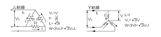 Three-phase AC circuit